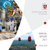 Cover of VATESI Annual Report 2017